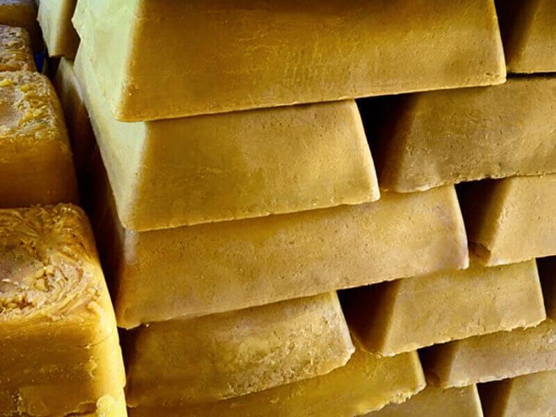 Wax blocks